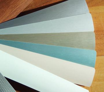 Nové barvy lamel horizontálních žaluzií